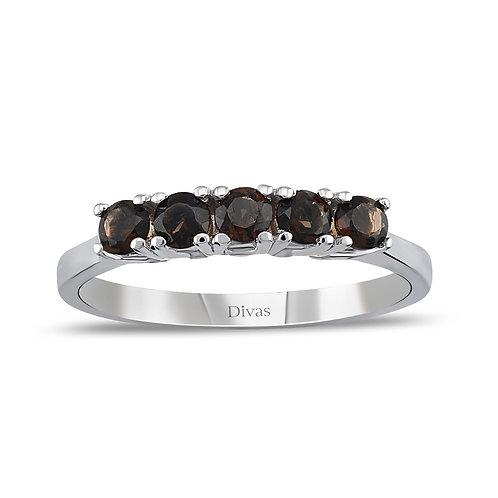 Smoky Topaz Ring