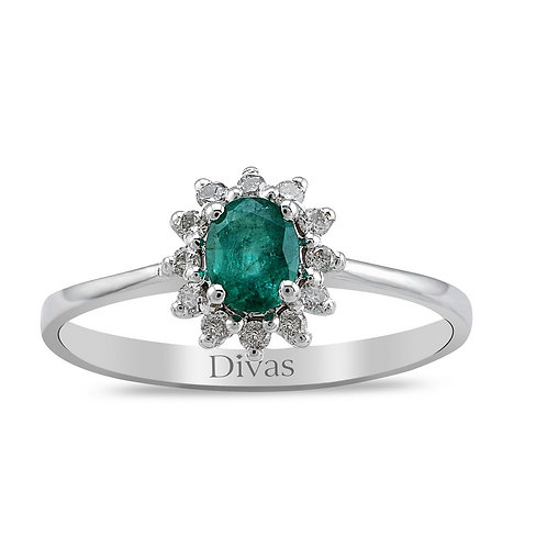 Emerald & Gemstones Ring