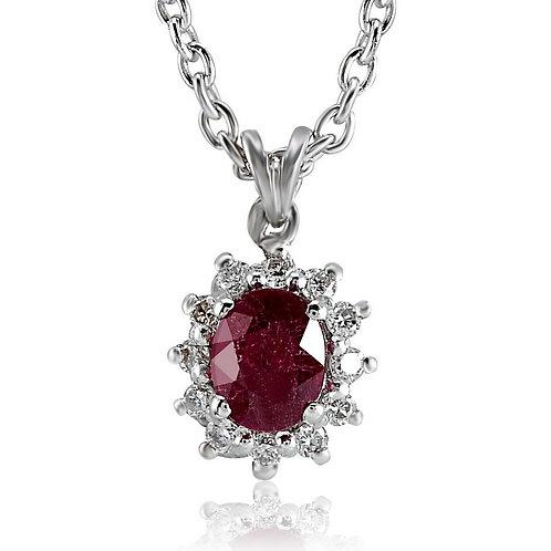 Ruby & Gemstones Necklace