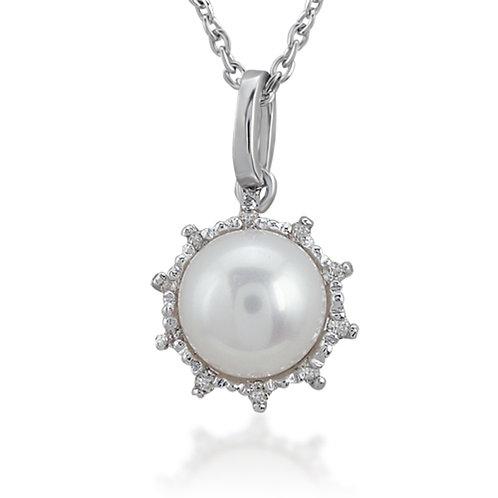 Gemstone Pearl Necklace