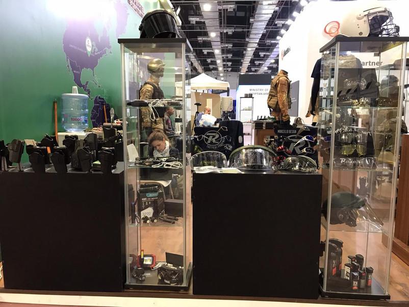 Carriarel Trading Ltd booth in EDEX '18