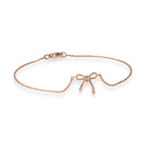 Diamond Tie Bracelet