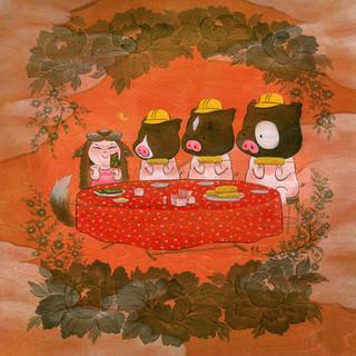 Mettā - Three Pigs