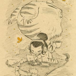 Jasmine and Tiger