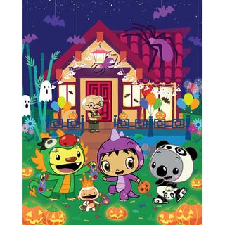 Press Art: Halloween
