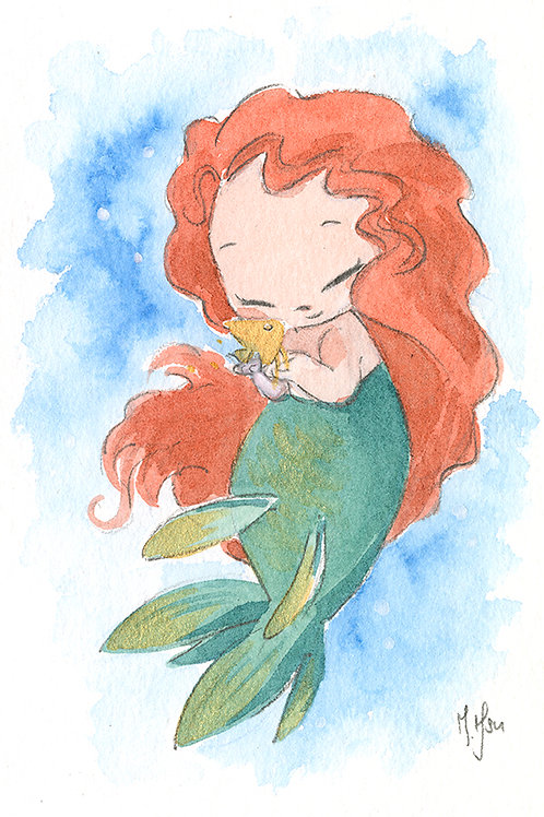 Mermies - Merida Print