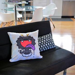 Dragon Boy & Dog Pillows