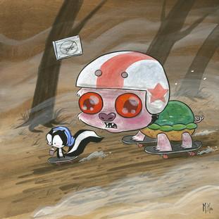 Snappy Pig Skate