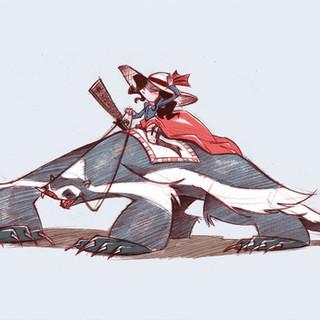 Badger Rider