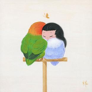 Love Birds, Peace