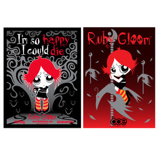 Ruby Gloom Store Posters