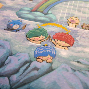 Sanrio's 50th Family Vacation (detail)
