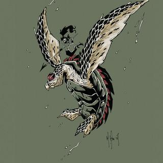 Hawksbill Warrior