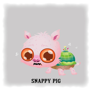 Snappy Pig 烏龜豬