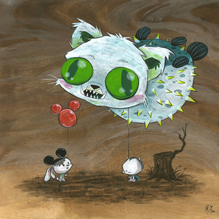 Puffer Puss Balloon