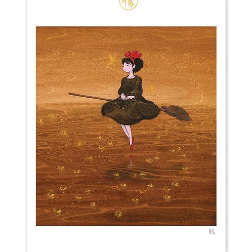 Kiki's Delivery Service - Kiki's Dream Print