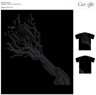Googe: Google Store T-shirt