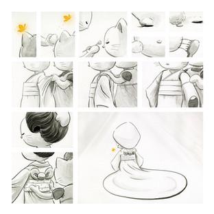 Once Upon A Hello Kitty Wedding, pg 2