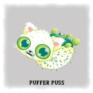 Puffer Puss 河豚貓