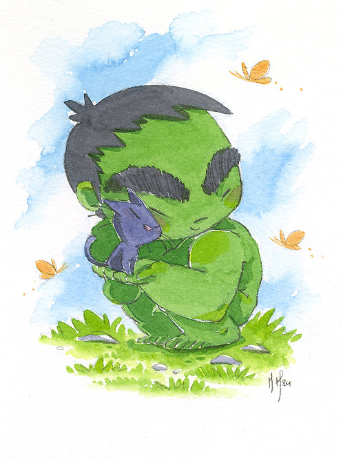Little Hulk - Print