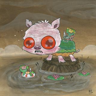 Snappy Pig Tan