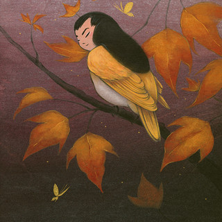 Goldfinch and Maple