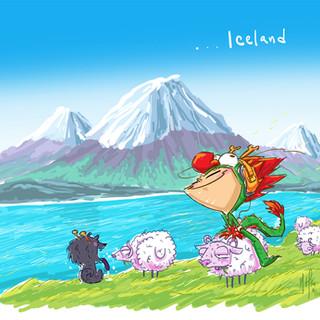 Dragon Boy in Iceland