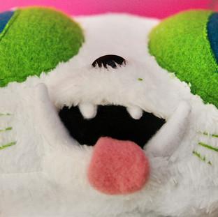 Puffer Puss Plushie