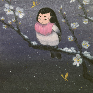 Robin and Plum Blossoms