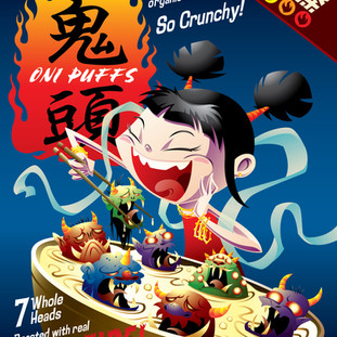 Oni Puffs Cereal