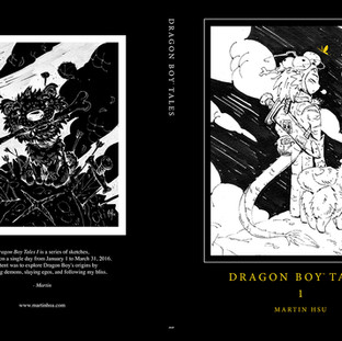 Dragon Boy Tales - Cover & Inserts