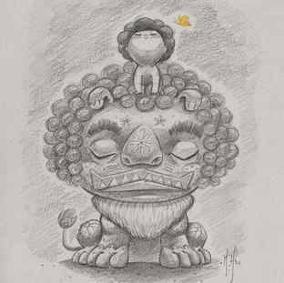 Mettā - Lion