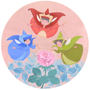 Fairy Godmothers and Rosebud