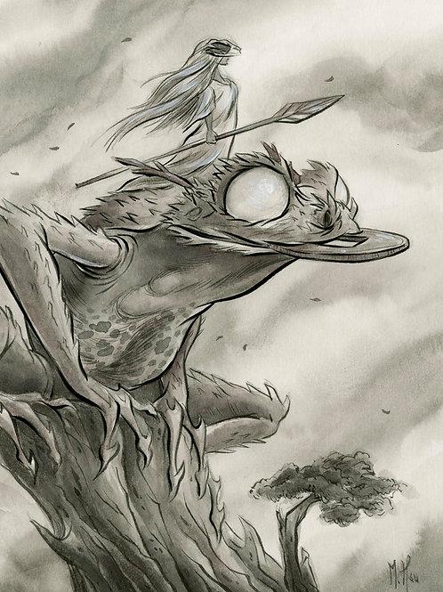 Spirit Animals - Toad Print