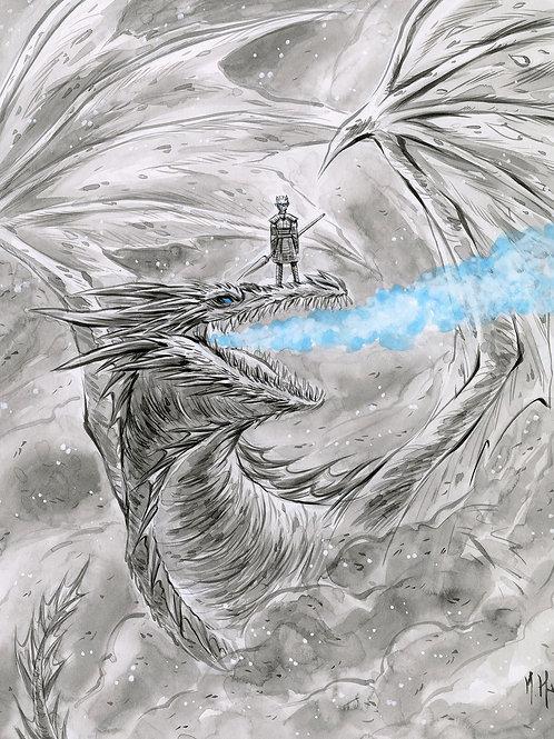 Game of Thrones - Night King Print