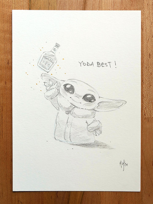 Yoda Best! Commission