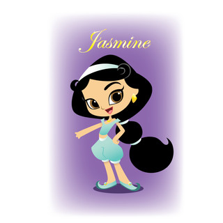 Character Design - Jasmine © Disney