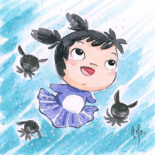 Octo Ballerina - Smile Print