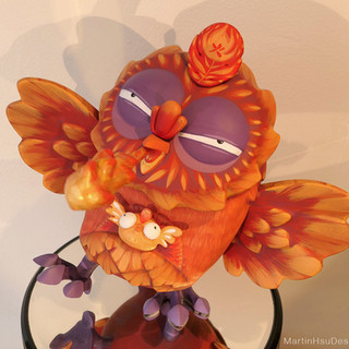 Firebird - Coarse Omen Outburst