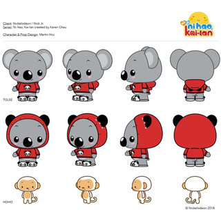 Character Design: Tolee & Hoho