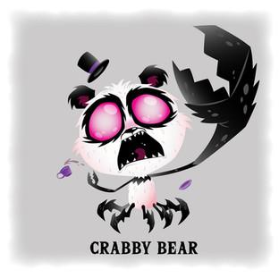 Crabby Bear 熊貓蟹 (Angry)