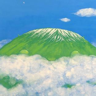 A Mountain View (detail)