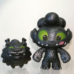 Dragon Boy Super Toothless & Night Furry Customs