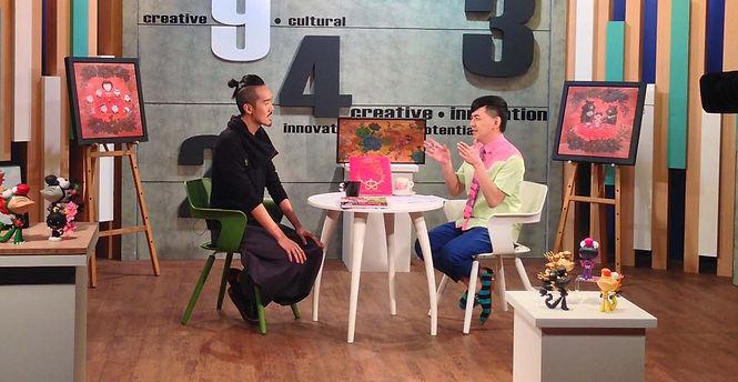 Asian American designer artist Martin Hsu on Taiwan TV
