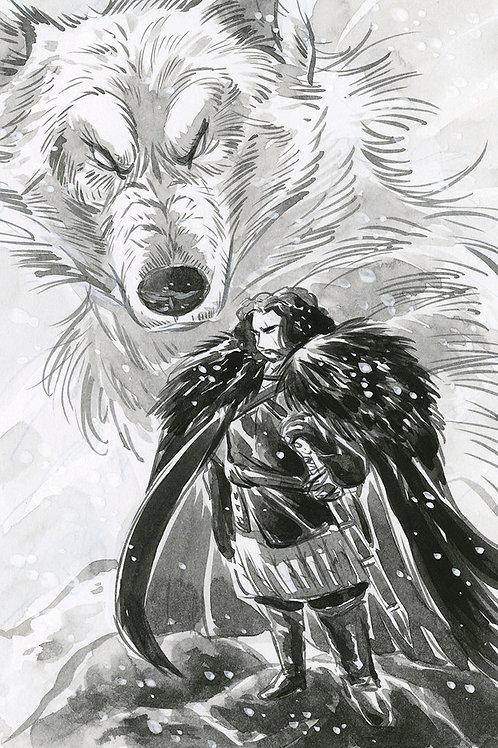 Game of Thrones - Jon Print