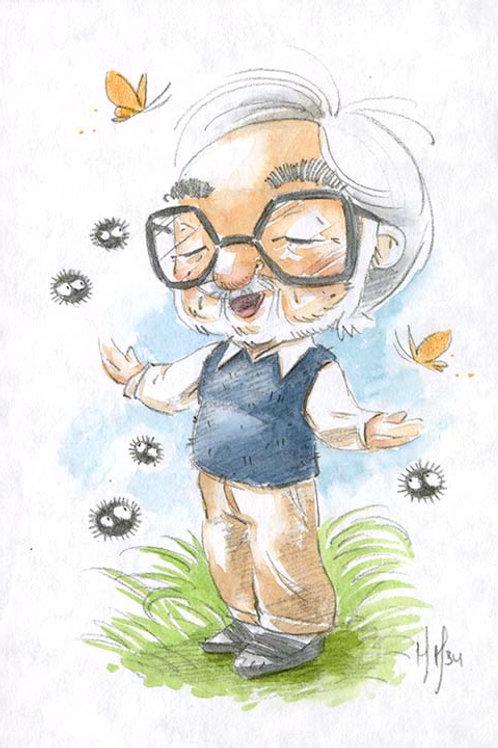 Hayao Miyazaki - Dust Mites Print