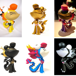 Dragon Boy Vinyl Figure - Color Variants