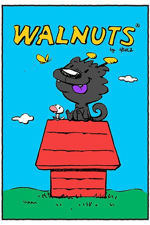 Walnuts - Dragon Dog Print