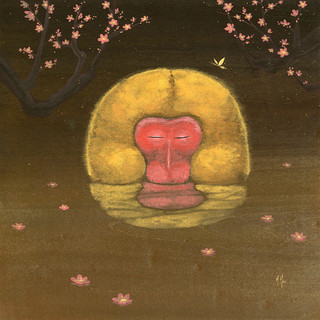 Monkey and Plum Blossoms