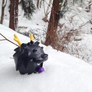 Blacky, the Dragon Dog Vinyl Figure